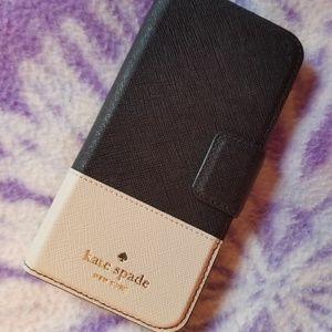 kate spade Leather Wrap Folio IPhone 7/7s Case